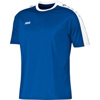 Jako Striker Shirt Korte Mouw - Royal / Wit