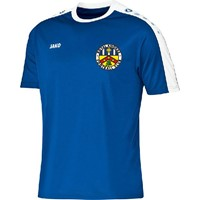 Jako Striker Shirt Korte Mouw Kinderen - Royal / Wit
