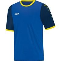 Jako Leeds Shirt Korte Mouw - Royal / Marine / Citroen