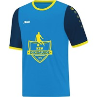 Jako Leeds Shirt Korte Mouw Kinderen - Jako Blauw / Marine / Fluogeel