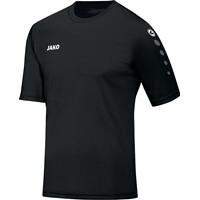 Jako Team Shirt Korte Mouw Kinderen - Zwart