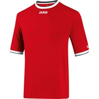 Jako United Shirt Korte Mouw Kinderen - Rood / Wit / Zwart