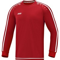 Jako Striker 2.0 Voetbalshirt Lange Mouw - Chilirood / Wit