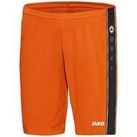 Jako Center Short - Fluo Oranje / Zwart
