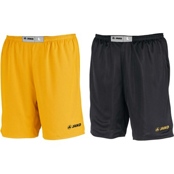 Picture of Jako Change Reversible Short Kinderen - Geel / Zwart