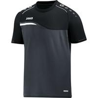 Jako Competition 2.0 T-shirt - Antraciet / Zwart