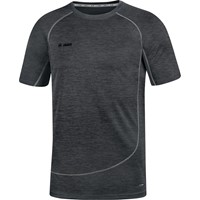 Jako Active Basics T-shirt - Zwart Gemeleerd