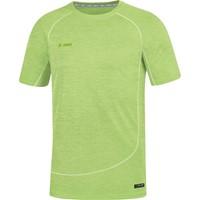 Jako Active Basics T-shirt - Fluogroen Gemeleerd