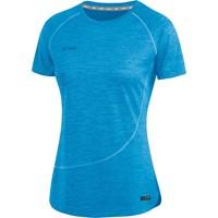 Jako Active Basics T-shirt Dames - Jako Blauw Gemeleerd