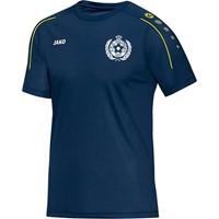 Jako Classico T-Shirt - Nachtblauw / Citroen