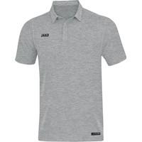 Jako Premium Basics Polo - Grijs Gemeleerd