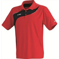 Jako Competition Polo - Rood / Zwart