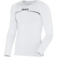 Jako Comfort Shirt Lange Mouw - Wit