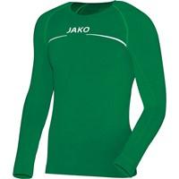 Jako Comfort Shirt Lange Mouw - Sportgroen