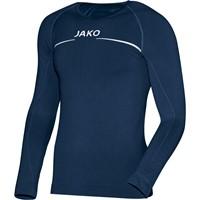 Jako Comfort Shirt Lange Mouw - Marine
