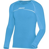 Jako Comfort Shirt Lange Mouw - Hemelsblauw