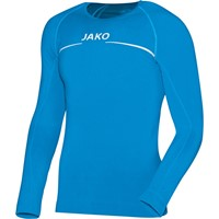 Jako Comfort Shirt Lange Mouw - Jako Blauw