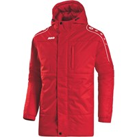 Jako Active Coach Jacket - Rood / Wit
