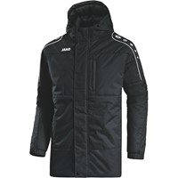 Jako Active Coach Jacket - Zwart / Wit