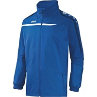 Jako Performance Regenjas - Royal / Wit / Marine