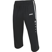 Jako Active 3/4 Trainingsbroek - Zwart / Wit