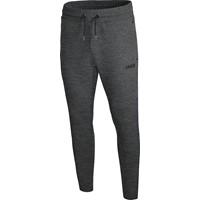 Jako Premium Basics Joggingbroek - Antraciet Gemeleerd