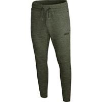 Jako Premium Basics Joggingbroek - Kaki Gemeleerd