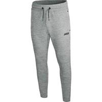 Jako Premium Basics Joggingbroek Dames - Grijs Gemeleerd