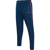 Jako Active Trainingsbroek Kinderen - Navy / Flame
