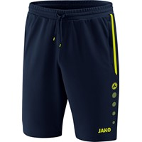 Jako Prestige Trainingsshort Kinderen - Marine / Lemon