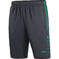 Jako Active Trainingsshort Kinderen - Antraciet / Turkoois