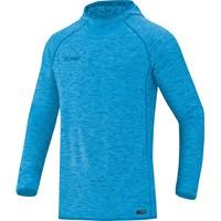 Jako Active Basics Sweater Met Kap - Jako Blauw Gemeleerd