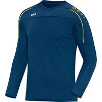 Jako Classico Sweater - Nachtblauw / Citroen