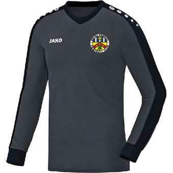 Picture of Jako Striker Keepershirt Lange Mouw Kinderen - Antraciet / Zwart