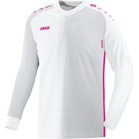 Jako Competition 2.0 Keepershirt Lange Mouw Kinderen - Wit / Framboos