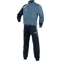 Jako Premium Trainingspak Polyester - Grijs / Zwart / Wit