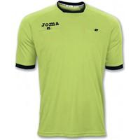 Joma Arbitro Scheidsrechtersshirt Korte Mouw - Fluo Groen / Zwart