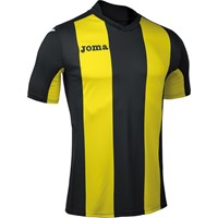 Joma Pisa Shirt Korte Mouw Kinderen - Zwart / Geel