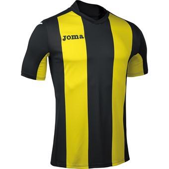 Picture of Joma Pisa Shirt Korte Mouw - Zwart / Geel