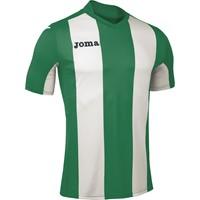 Joma Pisa Shirt Korte Mouw Kinderen - Groen / Wit