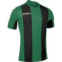 Joma Pisa Shirt Korte Mouw Kinderen - Groen / Zwart