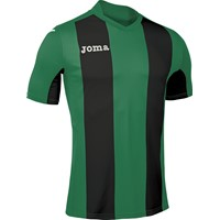 Joma Pisa Shirt Korte Mouw - Groen / Zwart