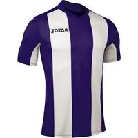 Joma Pisa Shirt Korte Mouw Kinderen - Paars / Wit