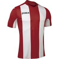 Joma Pisa Shirt Korte Mouw Kinderen - Rood / Wit