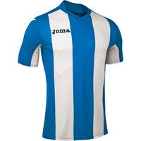 Joma Pisa Shirt Korte Mouw Kinderen - Royal / Wit