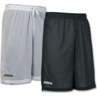 Joma Rookie Reversible Short Kinderen - Zwart / Wit