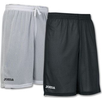 Picture of Joma Rookie Reversible Short - Zwart / Wit