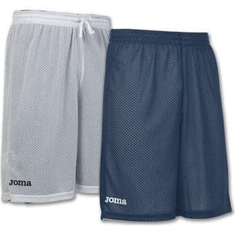 Picture of Joma Rookie Reversible Short - Marine / Wit