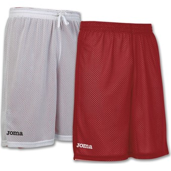 Picture of Joma Rookie Reversible Short - Rood / Wit