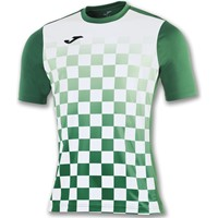Joma Flag Shirt Korte Mouw - Wit / Groen